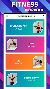 Women Workout App – Women Home Workout (At Home) 2020 3