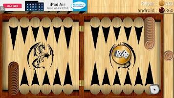 Screenshot of Backgammon - Narde