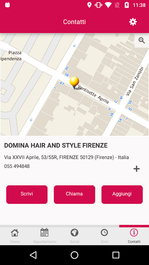 Domina Hair- screenshot