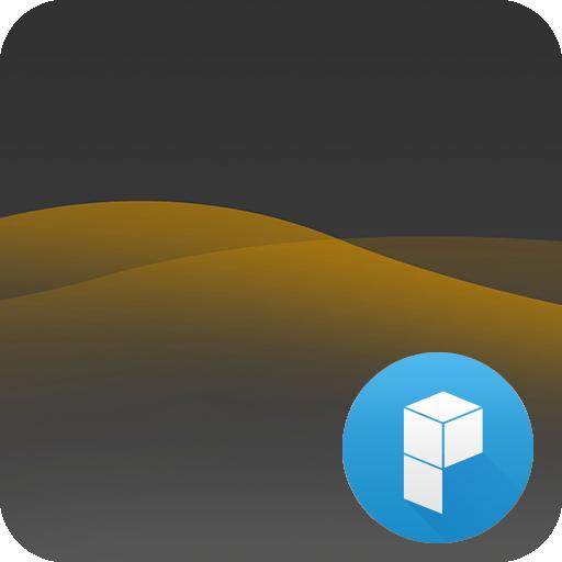 Deep Yellow Launcher Theme 個人化 App LOGO-硬是要APP