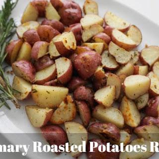 WW Rosemary Roasted Potatoes.