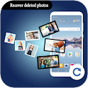Recover deleted photos Restore deleted pictures icon