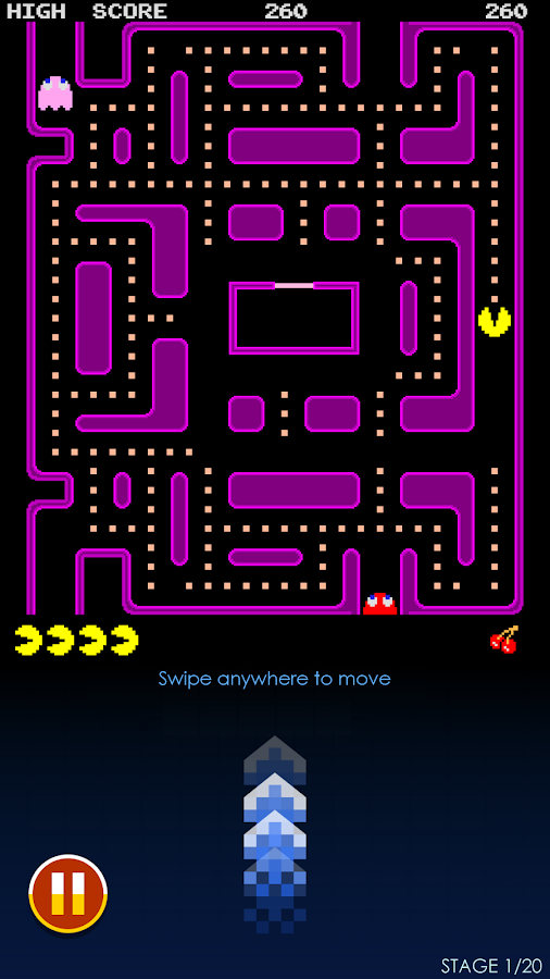 PAC-MAN- screenshot