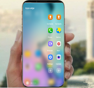Music Edge Player Galaxy S10  S9 S8 5