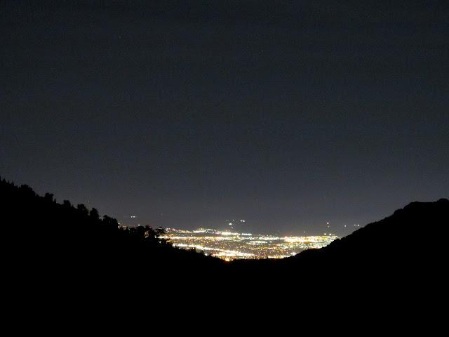 Salt Lake Valley at night