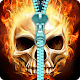 Skull lock screen. APK
