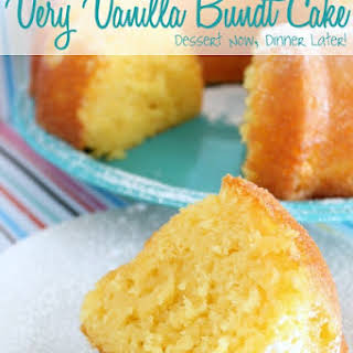 Very Vanilla Bundt Cake.