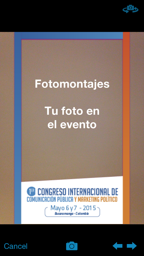 CongresoCPMP- screenshot