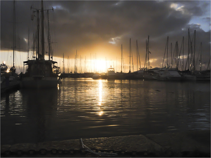Il bisbiglio di un tramonto....a Viareggio di Tolli