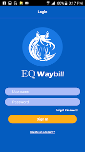 EQ Waybill apk screenshot