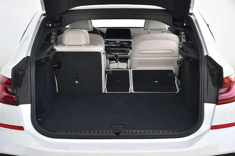Flexibility allows the boot to hold up to 1,800l.   Picture: BMW