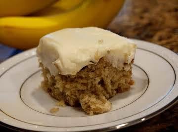 ELVIS'S BANANA CAKE