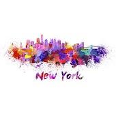 New York GO Keyboard theme