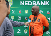 Dan Malesela, coach of TS Galaxy during the 2019 Nedbank Cup TS Galaxy Training Session at the Panorama Sports Club, Roodepoort on the 16 April 2019.