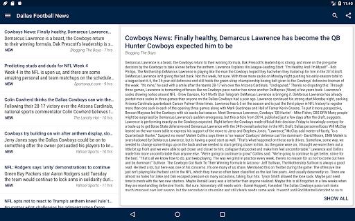 Dallas Football News  screenshots 8