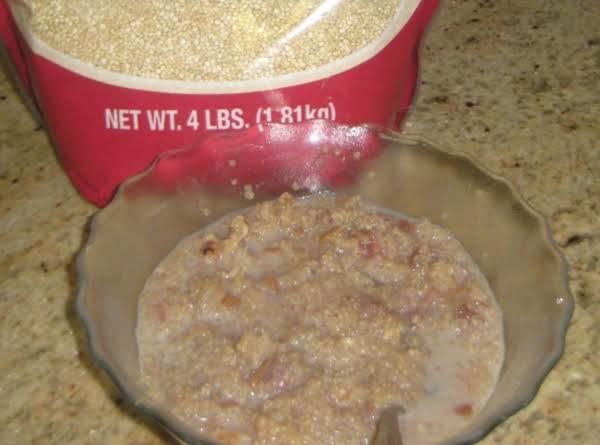 Quinoa For Breakfast Recipe