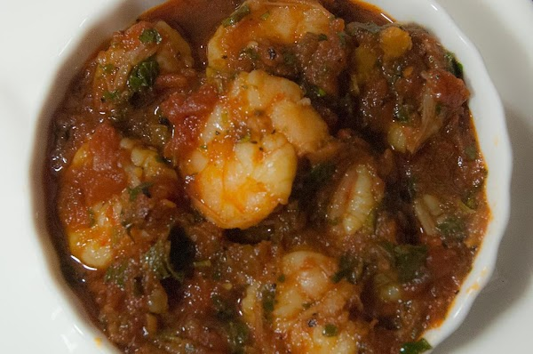 Awesome Shrimp In A Tomato Fumet Recipe