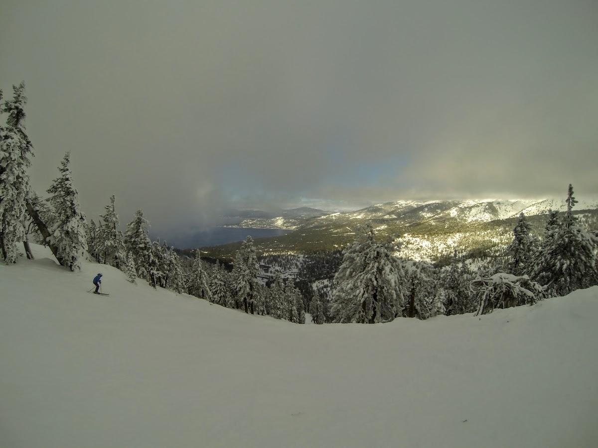 Crystal Ridge Run, Diamond Peak