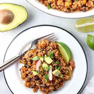 Vegan Enchilada Casserole.
