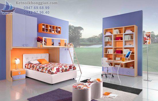 thiết kế bài trí phòng ngủ