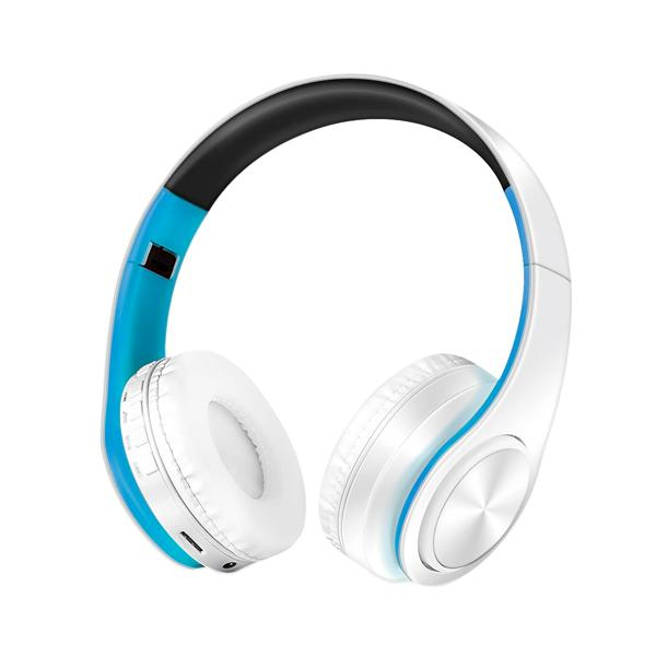 ZAPET Foldable Bluetooth Stereo Wireless Headphone with Mic