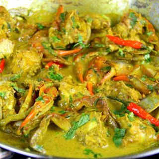 Tasty Curry Crab Simplified..