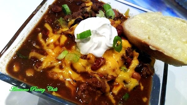 ~ My Awesome Tailgate Pantry Chili ~ Crock Pot Recipe
