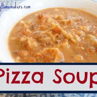 Pizza Soup.