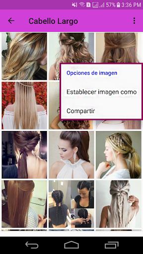 Cortes de Cabello Mujeres - Estilos 2019 1.0 Screenshots 6