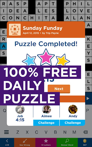 Daily Celebrity Crossword screenshot 10