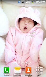 Cute Baby HD Wallpapers screenshot 1