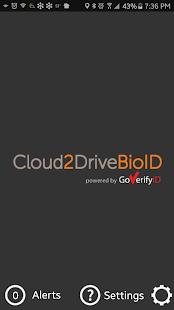 Cloud2Drive BioID - náhled