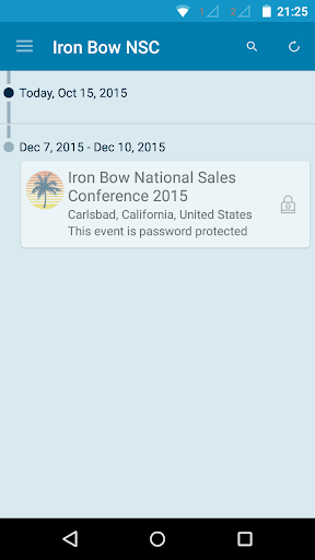 Iron Bow National Sales Conf.