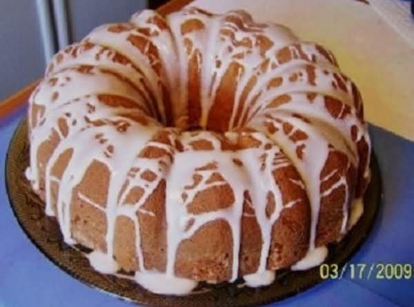 Sour Cream Lemon Pound Cake Recipe