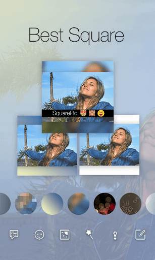 Square Pic Photo Editor-Collage Maker Photo Effect  screenshots 2