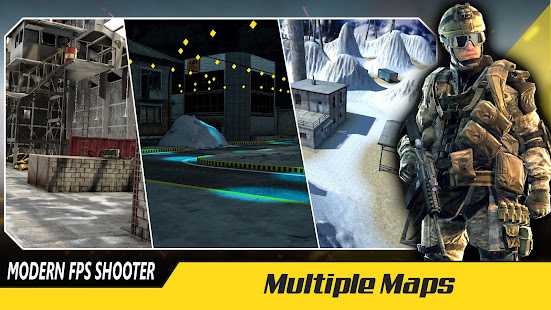 Mod Game Infinity FPS shooter : Modern commando ops strike for Android