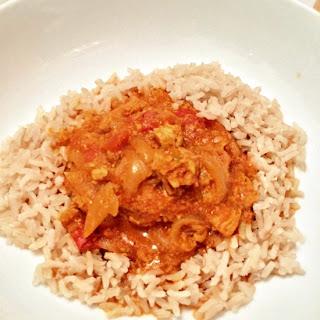 One Pot Chicken Tikka Masala.