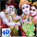 4D Radha Krishna Live Wallpaper icon
