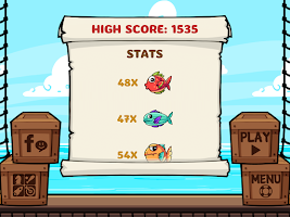 Screenshot of Fish Jump - Poke Flying Fishes