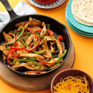 Flavorful Chicken Fajitas.