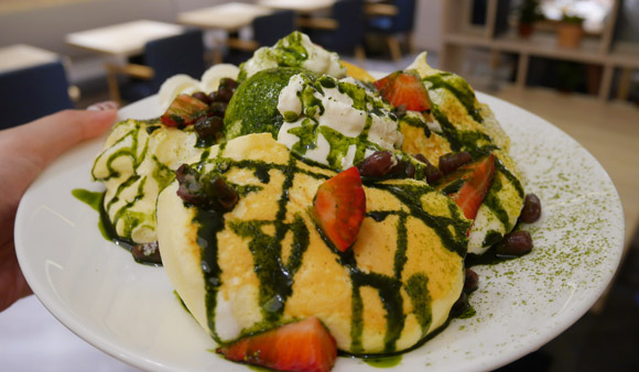 信義區下午茶 來自北海道的「小樽洋菓子舖 LeTAO」,乳酪蛋糕、厚鬆餅、義大利麵都好吃@捷運市政府站 (松菸餐廳) null