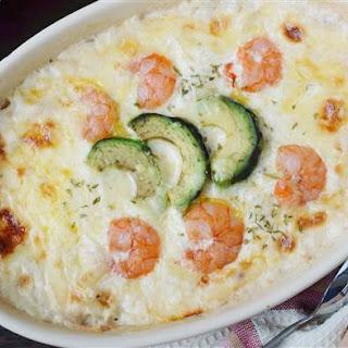 Lidia Bastianich'S Shrimp and Scallop Gratin Recipe