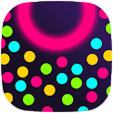 Glow Balls Control Idle Clicker -  Collect dot icon