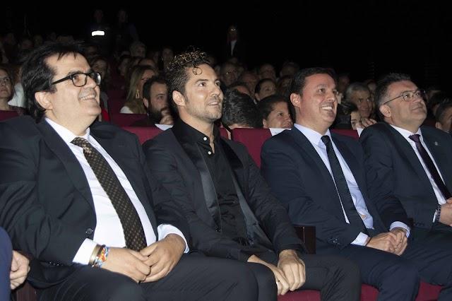 Antonio Jesús Rodríguez, David Bisbal, Javier A. García y José Carlos Lupión.