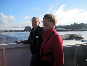 Photo: Leaving Port Alberni, Vancouver Island, British Columbia on the M.V. Frances Barkley. (Randy and Marjy)