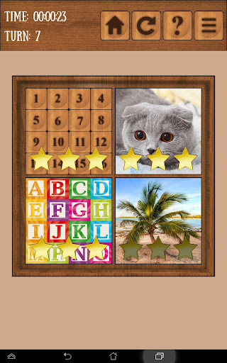 Fifteen Pictures Puzzle