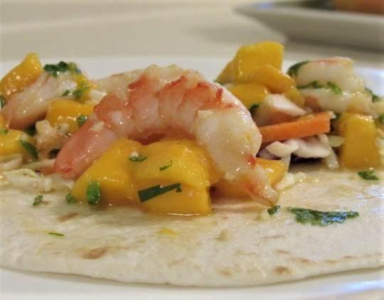Shrimp And Mango Tacos Recipe