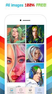 Billie Eilish Color by Number