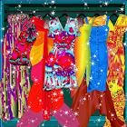 Rainbow Fashion Games - Девушки одеваются icon