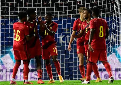 Euro U21: la Belgique entame son sprint final